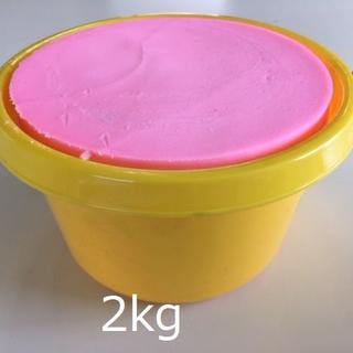 バケツ石鹸 2kg 【イエロー】(洗車・リペア用品)