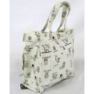 ROOTOTE - ROOTOTE  ルートート スクエア ハンドバッグ タグ付き新品 猫柄