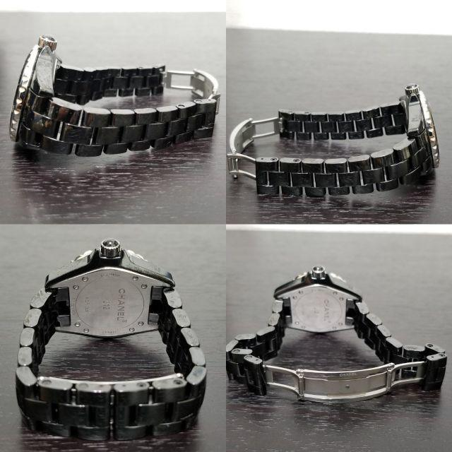 CHANEL(シャネル)のシャネル 美品! J12 ダイヤ☆ 腕時計 メンズの時計(腕時計(アナログ))の商品写真