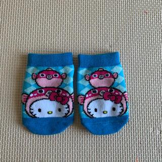 ハローキティ(ハローキティ)の新品❤️ご当地キティ❤️ 赤ちゃん靴下(靴下/タイツ)