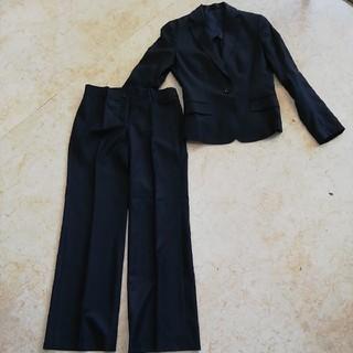 スーツカンパニー(THE SUIT COMPANY)のスーツカンパニー美形シャドウストライプパンツスーツ、サイズ36、S。(スーツ)