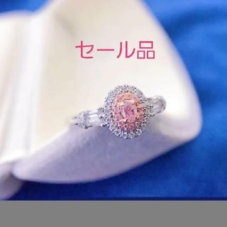 セール品♡シンプルF.L.Pinkダイヤモンドリング(リング(指輪))