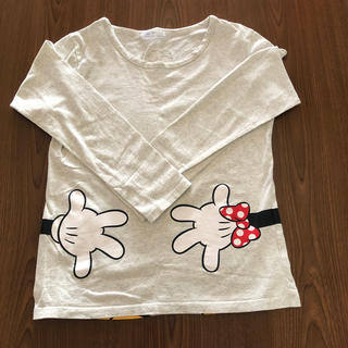 ベルメゾン - ディズニーミニー長Tシャツ M