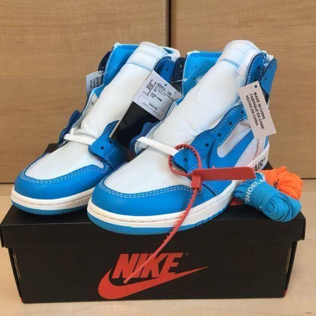 NIKE(ナイキ)の新品 26.5cm ナイキ ジョーダン 1 JORDAN 1 off white メンズの靴/シューズ(スニーカー)の商品写真