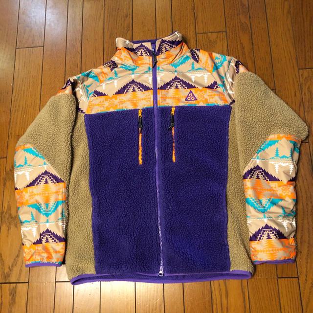 NIKE(ナイキ)のNIKE ACG ナイキ ペンドルトン Pendleton フリース モコモコ メンズのジャケット/アウター(ブルゾン)の商品写真