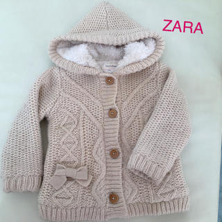 ZARA KIDS - ZARA 可愛いニットコート♡USサイズ: 18mos、日本サイズ80〜90位