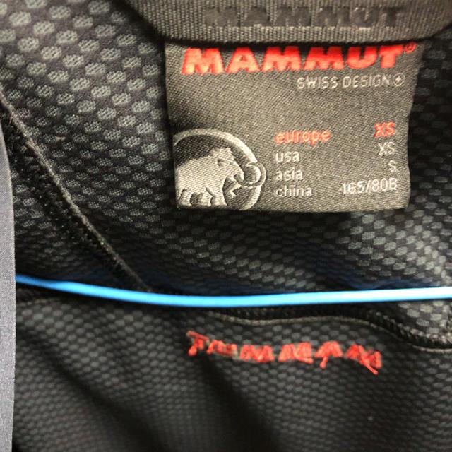 Mammut(マムート)のマムート ジャケット  スポーツ/アウトドアのアウトドア(登山用品)の商品写真