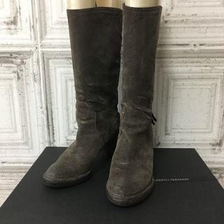 ジャーナルスタンダード(JOURNAL STANDARD)のイタリア製 ALBERTO FERMANI ブーツ USED(ブーツ)