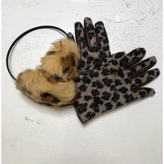 ユナイテッドアローズ(UNITED ARROWS)の耳あてと手袋(手袋)