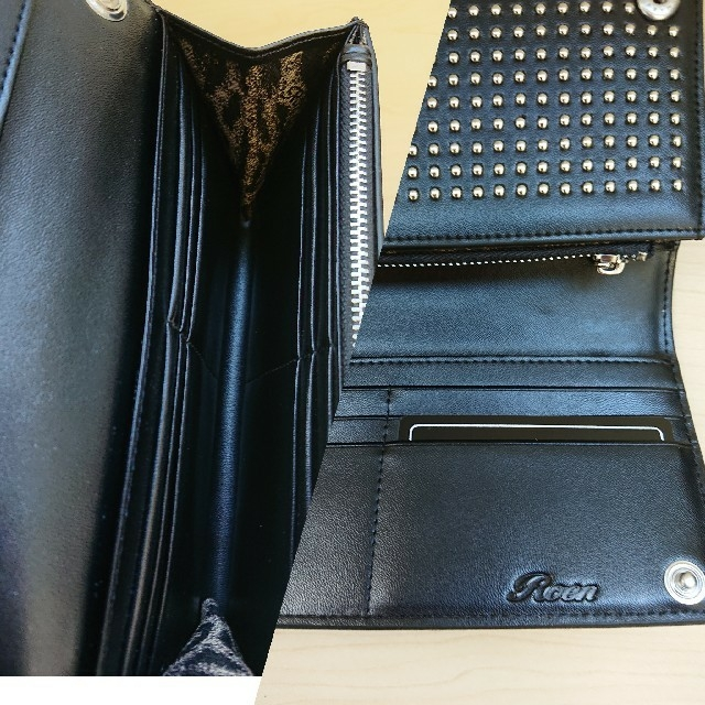 Roen(ロエン)のRoen スタッズ長財布✩.*˚未使用✩.*˚ メンズのファッション小物(長財布)の商品写真