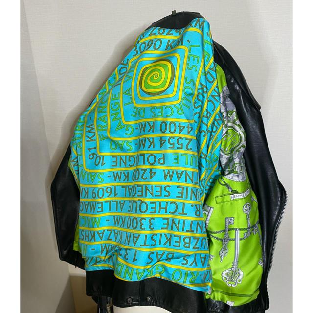 Chrome Hearts(クロムハーツ)のクロムハーツ ライダースジャケット jjディーン エルメス レザージャケット メンズのジャケット/アウター(ライダースジャケット)の商品写真