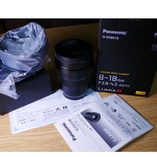 ライカ(LEICA)のLEICA DG8-18/F2.8-4.0 マイクロフォーサーズレンズ一眼カメラ(レンズ(ズーム))