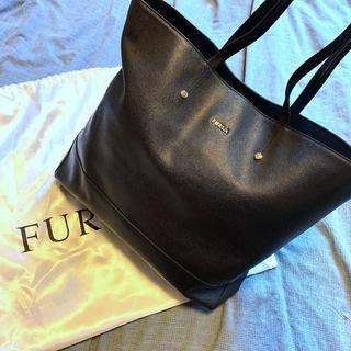 フルラ(Furla)の新品未使用超美品.*フルラ 牛革トートバッグ.ブラック(トートバッグ)
