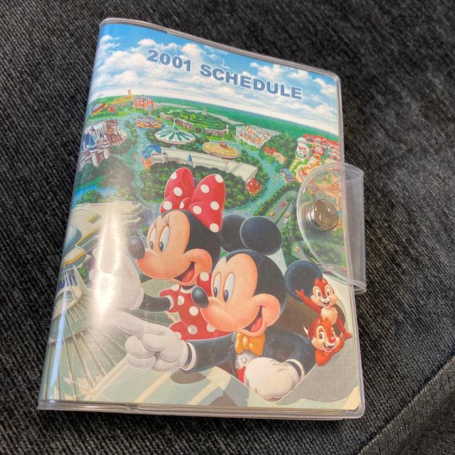 Disney(ディズニー)の2001年スケジュール手帳★東京ディズニーリゾート エンタメ/ホビーのおもちゃ/ぬいぐるみ(キャラクターグッズ)の商品写真