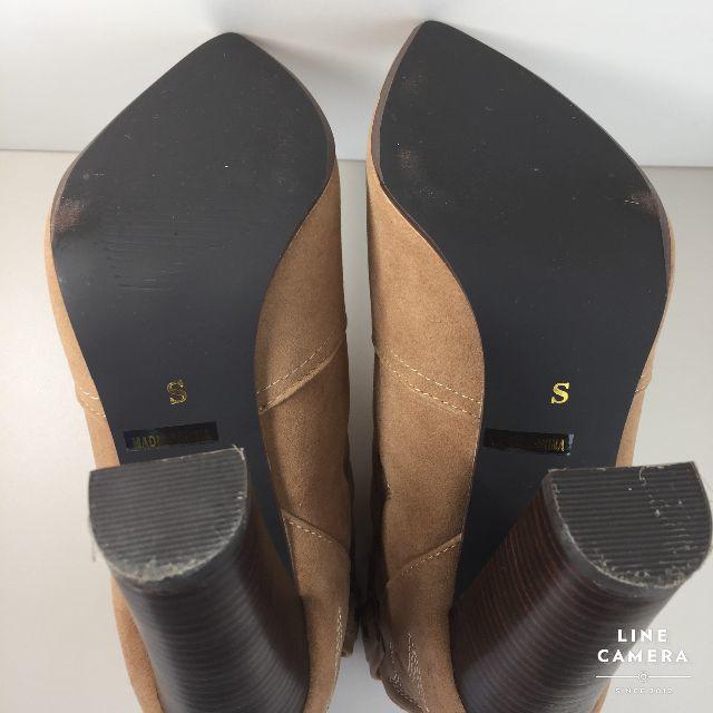 Ungrid(アングリッド)の美品 アングリッド ブーツ ショート スエード S 22.5 相当 レディースの靴/シューズ(ブーティ)の商品写真