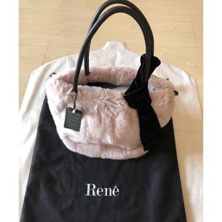 ルネ(René)の2018年 新品 Rene ルネ ファーバッグ カタログ掲載品 タグ付き(トートバッグ)