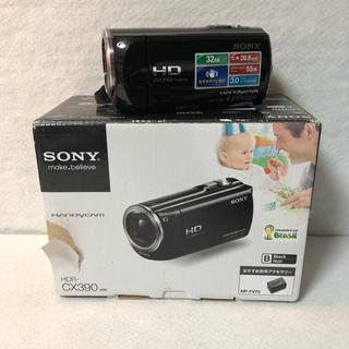 SONY - SONY ソニー デジタルHDビデオカメラレコーダー HDR-CX390