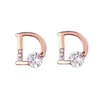 クリスチャンディオール(Christian Dior)のDマーク ピアス シンプル ブランド(ピアス)