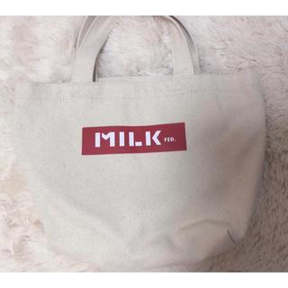ミルクフェド(MILKFED.)のミルクフェド  トートバック(トートバッグ)