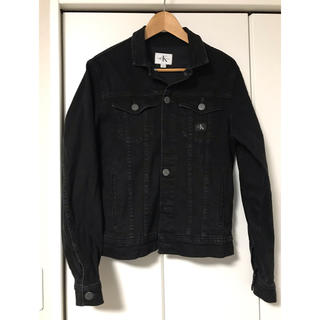 カルバンクライン(Calvin Klein)のy様専用カルバンクライン CKJeans ブラックデニムジャケット(Gジャン/デニムジャケット)