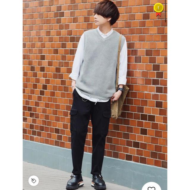 GU(ジーユー)のgu イージーカーゴパンツ メンズのパンツ(ワークパンツ/カーゴパンツ)の商品写真
