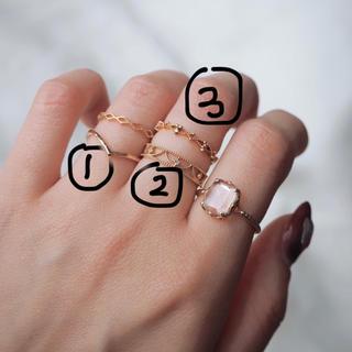 ノジェス(NOJESS)のNOJESS ノジェス K10ピンキーリング(リング(指輪))