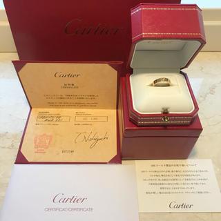 カルティエ(Cartier)のミニラブリング Cartier Loveシリーズ リング ダイヤモンド(リング(指輪))