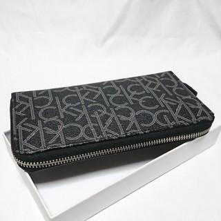 Calvin Klein - カルバンクライン ファスナー長財布 79468 ブラック