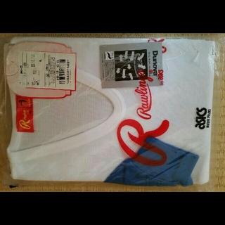 Rawlings - ローリングス アシックス 野球 ベースボール アンダーシャツ 長袖 ブルー