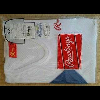 ローリングス(Rawlings)のローリングス アシックス 野球 ベースボール アンダーシャツ 七分袖 ブルー(ウェア)