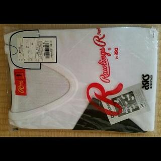 ローリングス(Rawlings)のローリングス アシックス 野球 ベースボール アンダーシャツ 七分袖 ネイビー(ウェア)