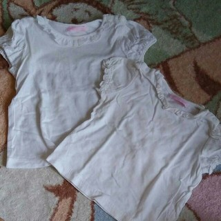 メゾピアノ(mezzo piano)のメゾピアノ 半袖シャツセット(Tシャツ)
