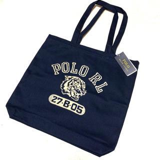 ポロラルフローレン(POLO RALPH LAUREN)の新品 POLO RL タイガー キャンバス トートバッグ(トートバッグ)
