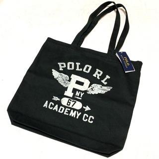 ポロラルフローレン(POLO RALPH LAUREN)の新品 POLO RL Pウイング キャンバス トートバッグ(トートバッグ)