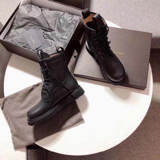 ボッテガヴェネタ(Bottega Veneta)の美品Bottega Veneta ブラック ブーツ(ブーツ)