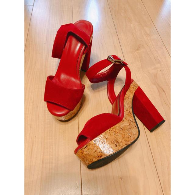 SLY(スライ)のSLY チャンキーサンダル レディースの靴/シューズ(サンダル)の商品写真