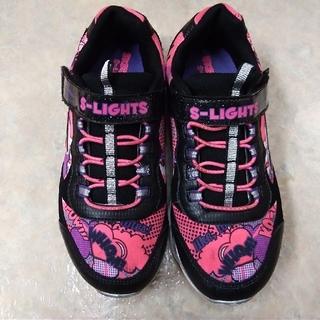スケッチャーズ(SKECHERS)のSKECHERS 光る運動靴👧 22cm(スニーカー)