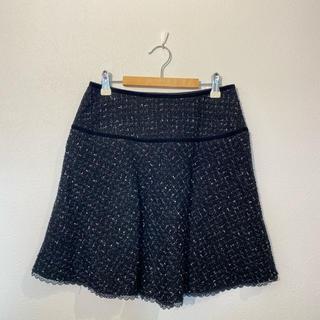エルディープライム(LD prime)のLD prime ラメ ツイード スカート #Cattleya(ひざ丈スカート)
