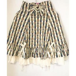 ボディライン(BODYLINE)のロリータ ♡コルセットスカート(ひざ丈スカート)