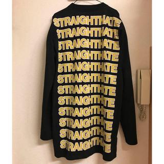 バレンシアガ(Balenciaga)の名作 VETEMENTS STRAIGHT HATE T-shirt(Tシャツ/カットソー(七分/長袖))
