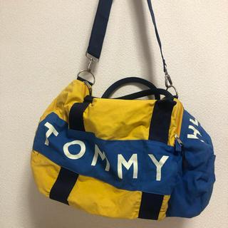 トミーヒルフィガー(TOMMY HILFIGER)のTOMMY ボストンバッグ  旅行用 黄色 紺 ネイビー イエロー(ボストンバッグ)