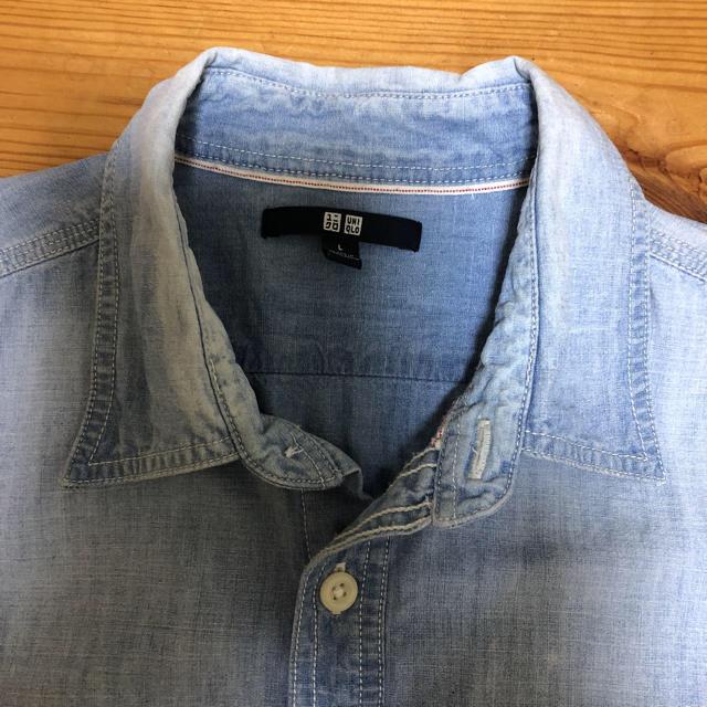 UNIQLO(ユニクロ)のユニクロ メンズ デニムシャツ L メンズのトップス(シャツ)の商品写真