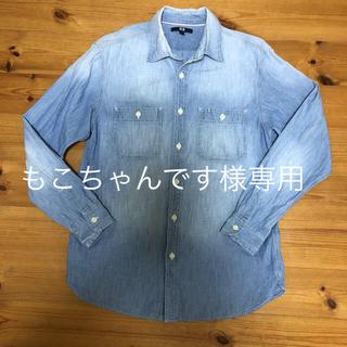 ユニクロ(UNIQLO)のユニクロ メンズ デニムシャツ L(シャツ)