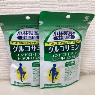 コバヤシセイヤク(小林製薬)のSALE!! グルコサミンコンドロイチン硫酸ヒアルロン酸 2個セット(その他)