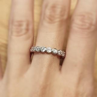 モアサナイトダイヤモンド*フルエタニティリング(リング(指輪))