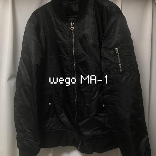 WEGO(ウィゴー)のwego MA-1 レディースのジャケット/アウター(ブルゾン)の商品写真