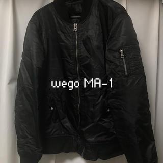 ウィゴー(WEGO)のwego MA-1(ブルゾン)
