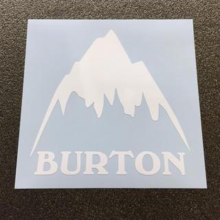 BURTON - マウンテンモチーフ  BURTON ロゴカッティングステッカー 送料無料