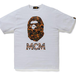 A BATHING APE - BAPE X MCMコラボ Tシャツ