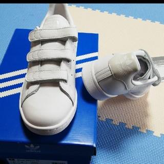 アディダス(adidas)の新品 adidasスタンスミス ベルクロ 22、5センチ(スニーカー)